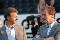 Fotball Tipeligaen Rosenborg ( RBK ) - Odd Grenland 6-0<br /> Sportsdirektør Rune Bratseth og Direktør Nils Skutle<br /> Foto: Carl-Erik Eriksson, Digitalsport