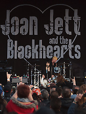 Joan Jett and the Blackhearts Rock the 2012 Toyota Grand Prix of Long Beach