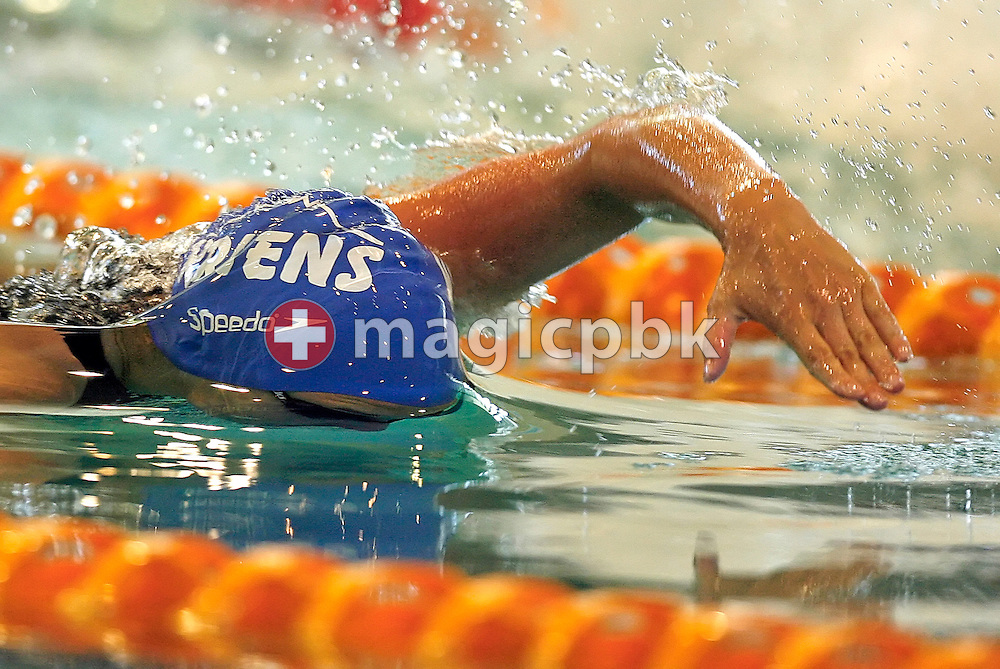 Ramona KNUESEL of Switzerland competes in the women's 50m freestyle heats in the Hallenbad Oerlikon at the Swimming Swiss Championships in Zurich, Switzerland, Saturday 12 May 2007. (Photo by Patrick B. Kraemer / MAGICPBK)