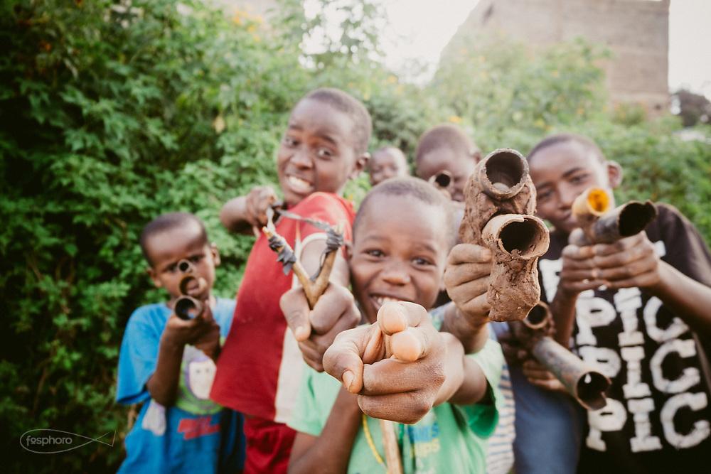 Kenia 2017: Kibera, giochi di strada