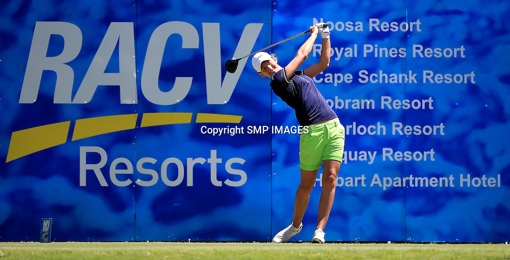 ANNE VAN DAM (NED) - PHOTO : SMP IMAGES / ALPGA MEDIA - Action from the the 2015 RACV Australian Ladies Masters being held at Royal Pines Resort on Queenslands Gold Coast. This image is for Editorial Use only. No further image use or third party sales are allowed with out the written consent of the Mananger SMP IMages and or the CEO of the LPGA Tour. Photo: SMP Images / LPGA Media