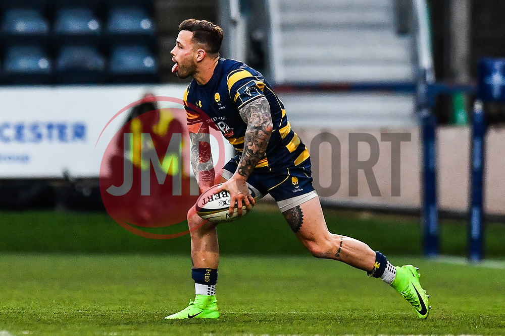 Francois Hougaard of Worcester Warriors in action - Mandatory by-line: Craig Thomas/JMP - 27/01/2018 - RUGBY - Sixways Stadium - Worcester, England - Worcester Warriors v Exeter Chiefs - Anglo Welsh Cup