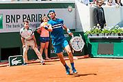 karen Khachanov (rus) during the Roland Garros French Tennis Open 2018, day 8, on June 3, 2018, at the Roland Garros Stadium in Paris, France - Photo Pierre Charlier / ProSportsImages / DPPI