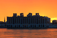 Picture of Montreal skyline as viewed from Ile Sainte-Helene