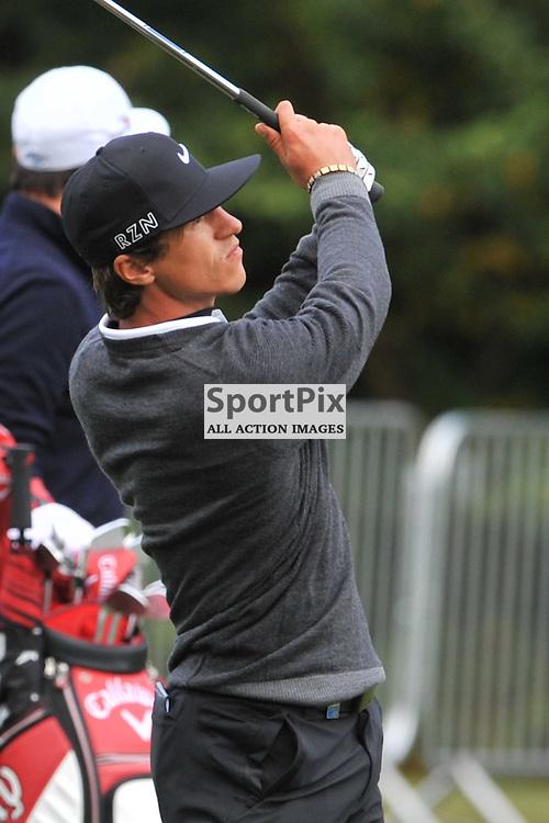 Thorbjorn Olesen Denmark, British Masters, European Tour, Woburn Golf Course Friday 9th October 2015.
