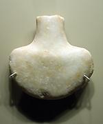 Anthropomorphic figurines Limestone, marble and ceramic Second Half of the third Millennium BC.