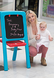 Repro Free: 25/10/2014<br /> Celebrity mum Pippa O&rsquo;Connor is pictured with Rosa McCormack (8mths) from Walkinstown at the launch of the SMA Know-How Pregnancy and Baby Fair, Ireland&rsquo;s premier pregnancy and maternity event, taking place in the RDS this weekend 30-31 August. <br /> The event will feature advice from a host of Ireland&rsquo;s leading professionals in maternity, paediatrics and baby products, including a baby sleep expert, a baby allergy specialist and a baby nutrition expert. Attendees will also enjoy exclusive access to over 100 retailers and exhibitors who will be offering exclusive discounts and special offers on a host of products and services. <br /> Pippa O&rsquo;Connor will be attending each day of the SMA Know-How Pregnancy and Baby Fair to judge the &lsquo;VIP Glow of the Show Award&rsquo;. The award will go to the expectant or new Mammy attending who has a beautiful and natural glow! Each winner will receive an array of wonderful prizes! Picture: Andres Poveda
