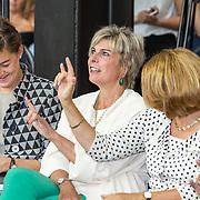 NLD/Zoetermeer/20170904 -  Opening week Alfabetiseringsweek, Pr. Laurentien en Marja van Bijsterveldt