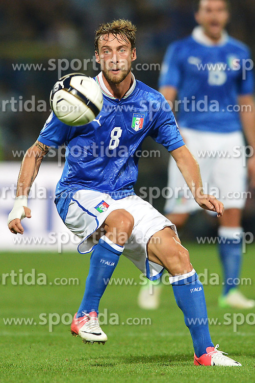 11.09.2012, Stadion Alberto Braglia, Modena, ITA, FIFA WM Qualifikation, Italien vs Malta, im Bild Claudio Marchisio Italia // during FIFA World Cup Qualifier Match between Italy and Malta at the Estadio Alberto Braglia, Modena on 2012/09/11. EXPA Pictures © 2012, PhotoCredit: EXPA/ Insidefoto/ Andrea Staccioli..***** ATTENTION - for AUT, SLO, CRO, SRB, SUI and SWE only *****