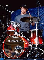 Adam Taylor of The Dunwells performs at Sixways Stadium - Mandatory by-line: Matt McNulty/JMP - 14/07/2017 - Sixways Stadium - Worcester, England