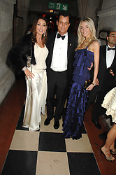 Left to right, TAMARA MELLON, MATTHEW MELLON and NOELLE RENO at the 2nd Fortune Forum Summit and Gala Dinner held at the Royal Courts of Justice, The Strand, London on 30th November 2007.<br /><br />NON EXCLUSIVE - WORLD RIGHTS
