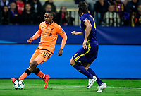 MARIBOR, SLOVENIA - OCTOBER 17: Daniel Sturridge of Liverpool FC  vs Marko Suler of NK Maribor during UEFA Champions League 2017/18 group E match between NK Maribor and Liverpool FC at Stadium Ljudski vrt, on October 17, 2017 in Maribor, Slovenia. (Photo by Vid Ponikvar / Sportida)