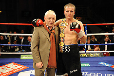 16.10.10 THE TROXY, LIMEHOUSE, LONDON, BRITISH LIGHT MIDDLEWEIGHT TITLE, PROMOTER FRANK MALONEY