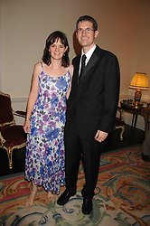 SIMON & CATHERINE PERRY at a pub style quiz night in aid of Rapt at Willaim Kent House, The Ritz, London on 25th June 2006.  The questions were composed by Judith Keppel and the winning team won £1000 to donate to a charity of their choice.<br /><br />NON EXCLUSIVE - WORLD RIGHTS