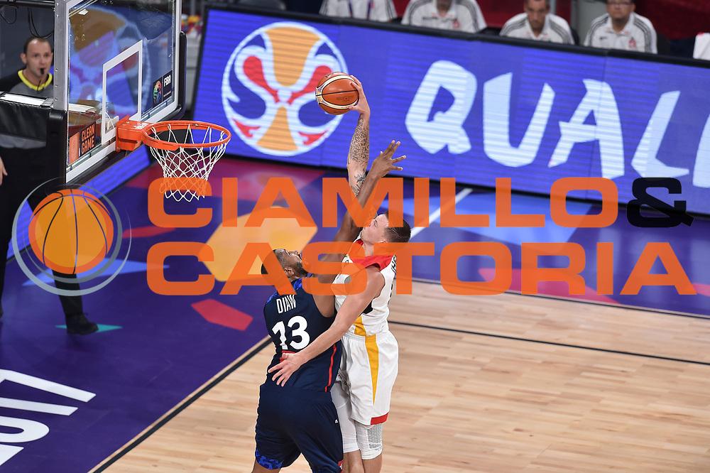 Daniel Theis<br /> Eurobasket 2017 <br /> Francia - Germania<br /> Istambul, 09/09/2017<br /> Foto Ciamillo - Castoria/ M.Longo