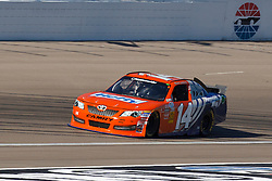 Mar 9, 2012; Las Vegas, NV, USA;  Nationwide Series driver Eric McClure (14) during practice for the Sam's Town 300 at Las Vegas Motor Speedway. Mandatory Credit: Jason O. Watson-US PRESSWIRE
