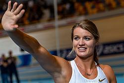 16-02-2019 NED: AA Drink NK Indoor, Apeldoorn<br /> Dafne Schippers wins the 60m sprint.