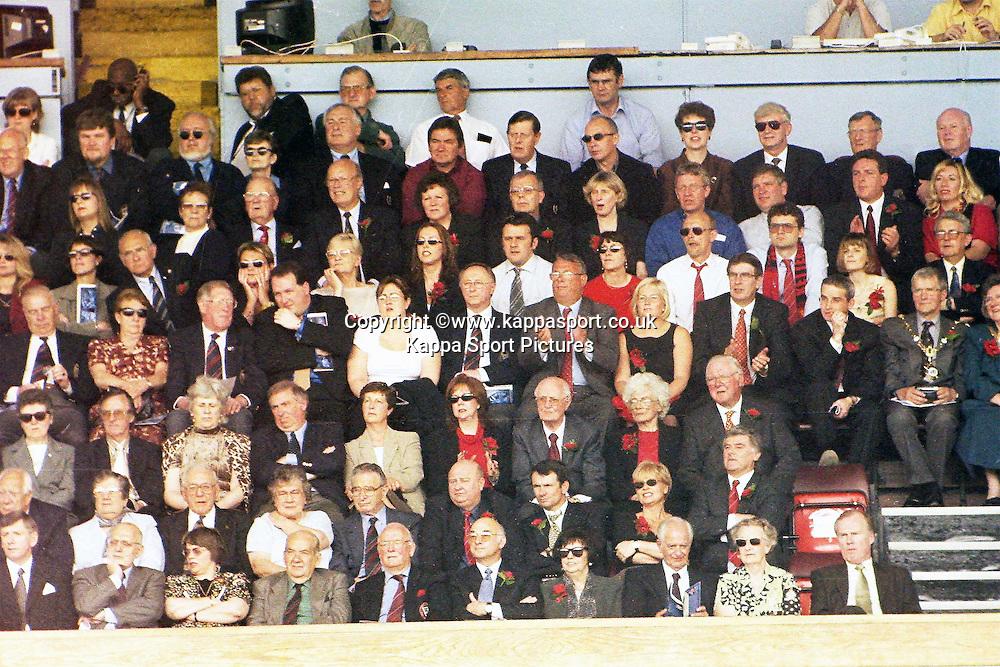 Kettering Town Fans  at Wembley, Action Game, Kettering Town v Kingstonia, FA Trophy Final, Wembley Stadium, Saturday 13th May 2000