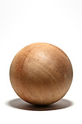 round wooden boll object