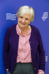 Pictured: Jenny Uglow<br /> <br /> Jennifer Sheila Uglow OBE is a British biographer, historian, critic and publisher. She was an editorial director of Chatto & Windus.