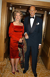 MR & MRS DAVID METCALFE, his father was equerry to the late King Edward VIII at a dinner in aid of the BAAF (British Association for Adoption & Fostering) held at The Savoy, London on 22nd March 2005.<br /><br />NON EXCLUSIVE - WORLD RIGHTS