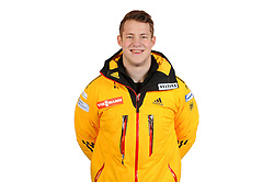 03.01.2014, Kunsteisbahn, Koenigssee, GER, BSD, Rennrodler Team Deutschland, Portrait, im Bild Robin Geueke (SC Fredeburg) // during Luge athletes of team Germany, Portrait Shooting at the Kunsteisbahn in Koenigssee, Germany on 2014/01/04. EXPA Pictures © 2014, PhotoCredit: EXPA/ Eibner-Pressefoto/ Stuetzle<br /> <br /> *****ATTENTION - OUT of GER*****