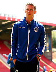 Joe Partington of Bristol Rovers arrives at The Valley for the opening day of the Sky Bet League One 2017/18 Season - Mandatory by-line: Robbie Stephenson/JMP - 05/08/2017 - FOOTBALL - The Valley - Charlton, London, England - Charlton Athletic v Bristol Rovers - Sky Bet League One