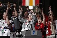 Wisconsin Delegates at the 2011 NEA Representative Assembly in Chicago, Il.Scott Iskowitz/RA Today