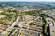 Nederland, Gelderland, Arnhem, 30-09-2015; Oost-Arnhem, Statenkwartier. Johan de Wittlaan.<br /> Arnhem East.<br /> <br /> luchtfoto (toeslag op standard tarieven);<br /> aerial photo (additional fee required);<br /> copyright foto/photo Siebe Swart