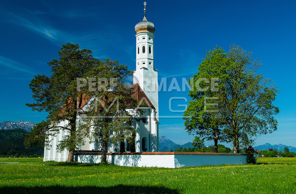 St. Coleman's Church in Bavaria, Germany