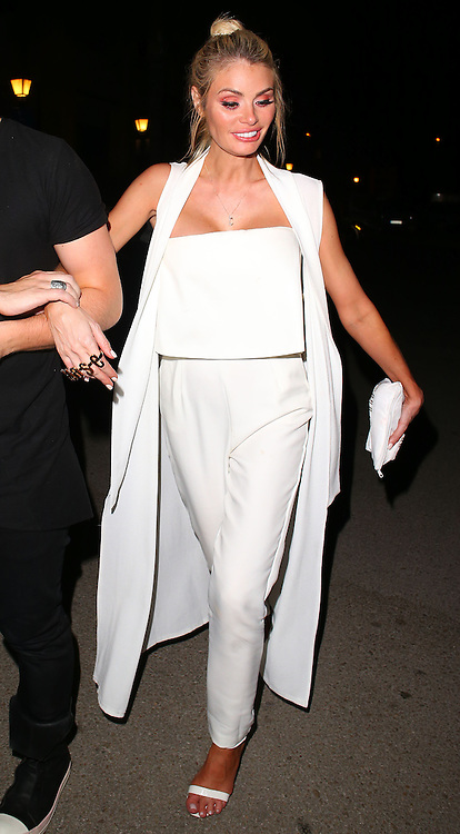 TOWIE star Chloe Sims attends the Cavalli Club VIP Launch party in Puerto Banus, Marbella. Spain. 30/05/2015<br />