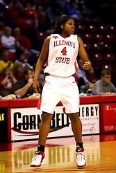 31 December 2006: Brea Banks.The Bulldogs of Drake University dropped a conference match-up to the Redbirds 64-50 at Redbird Arena in Normal Illinois on the campus of Illinois State University.<br />