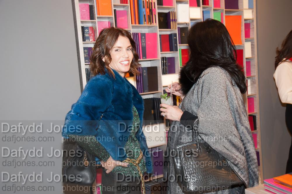 JAN ESPOSITO; , Smythson Sloane St. Store opening. London. 6 February 2012.