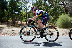 Tanja Erath (GER) on the Stirling climb on Stage 3 of 2020 Santos Women's Tour Down Under, a 109.1 km road race from Nairne to Stirling, Australia on January 18, 2020. Photo by Sean Robinson/velofocus.com
