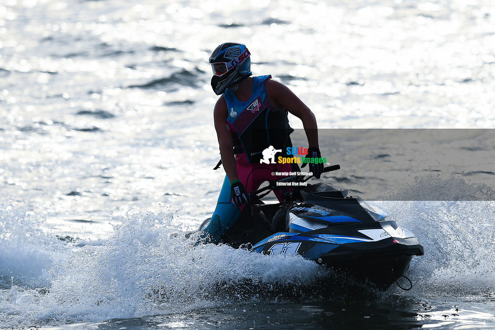 PATTAYA, THAILAND - DECEMBER 09: Marcus Jorgensen (11) of Denmark and MJ Racing after the Pro Runabout GP Moto4 at the Thai Airways International Jet Ski World Cup 2018, Jomtien Beach, Pattaya, Thailand on December 09, 2018. <br /> .<br /> .<br /> .<br /> (Photo by: Naratip Golf Srisupab/SEALs Sports Images)<br /> .<br /> Any image use must include a mandatory credit line adjacent to the content which should read: Naratip Golf Srisupab/SEALs Sports Images