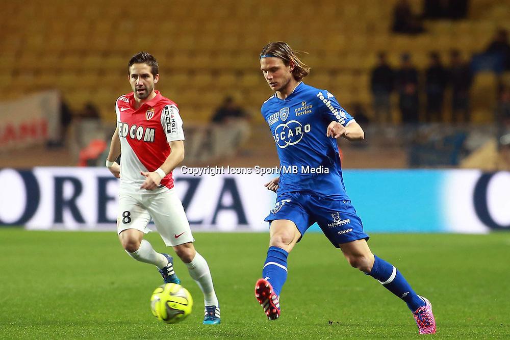GILLET GUILLAUME - 13.03.2015 -   Monaco / Bastia -  29eme journee de Ligue 1 <br />Photo : Serge Haouzi / Icon Sport