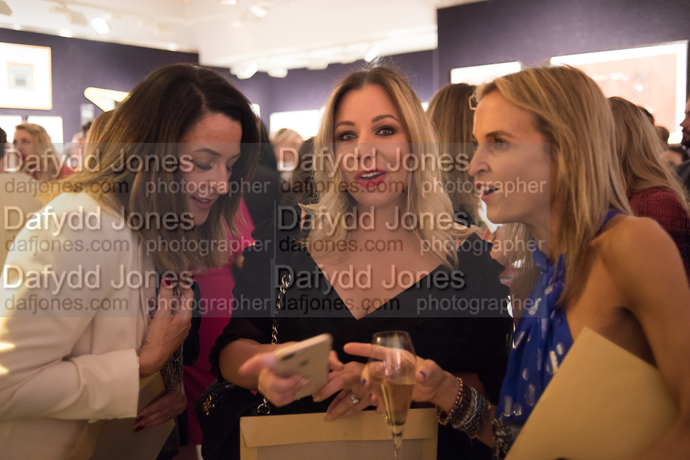 CLAIRE PORTIS, MARIAN JENSEN, CLARE GUBBINGS, `preview evening  in support of The Eve Appeal, a charity dedicated to protecting women from gynaecological cancers. Bonhams Knightsbridge, Montpelier St. London. 29 April 2019