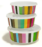 french bull cabana striped storage containers