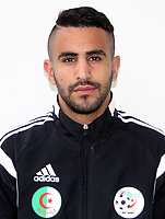 Confederation of African Football - World Cup Fifa Russia 2018 Qualifier / <br /> Algeria National Team - Preview Set - <br /> Riyad Mahrez