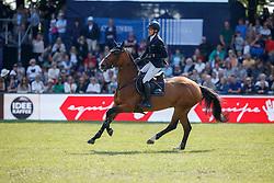 VON ECKERMANN Henrik (SWE), Flotte Deern<br /> Hamburg - 89. Deutsches Spring- und Dressur Derby 2018<br /> Longines Global Champions Tour<br /> Grand Prix of Hamburg<br /> 12.Mai 2018<br /> www.sportfotos-lafrentz.de/Stefan Lafrentz