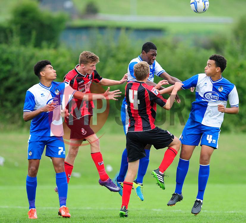 Bristol Rovers' U18s   - Photo mandatory by-line: Dougie Allward/JMP - Tel: Mobile: 07966 386802 17/08/2013 - SPORT - FOOTBALL - Bristol Rovers Training Ground - Friends Life Sports Ground - Bristol - Academy - Under 18s - Youth - Bristol Rovers U18s V Bournemouth U18s