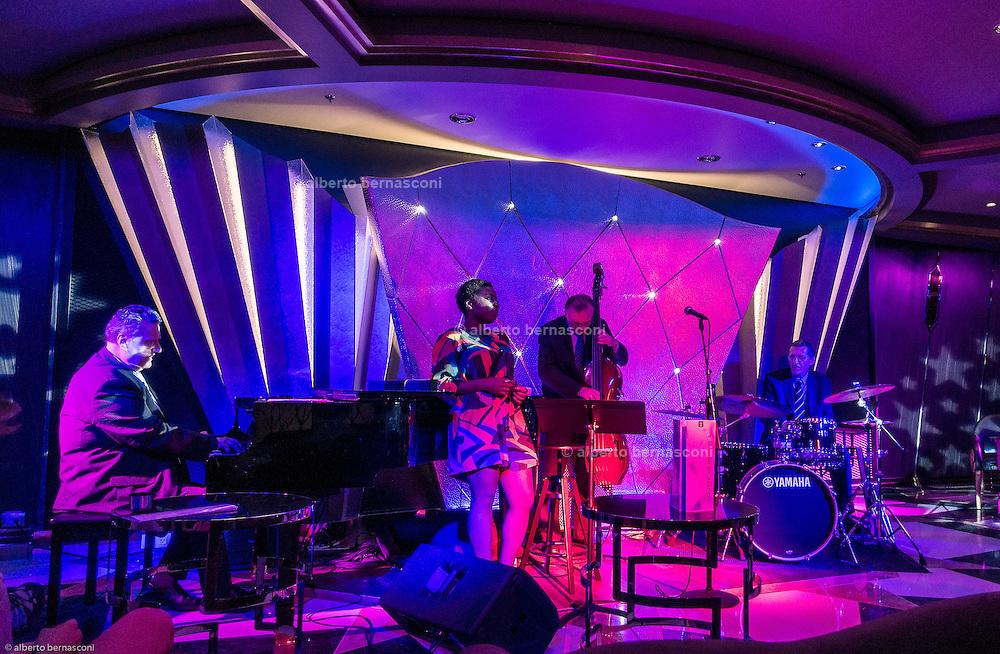 Royal Caribbean, Harmony of the Seas, night at the jazz club Jazz on 4