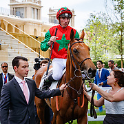 My Sister Nat (PC Boudot) wins Prix de Verneuil in Paris Lonchamp, France, 27/05/2018, photo: Zuzanna Lupa