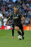 Malaga´s Nordin Amrabat during 2014-15 La Liga match between Real Madrid and Malaga at Santiago Bernabeu stadium in Madrid, Spain. April 18, 2015. (ALTERPHOTOS/Luis Fernandez)