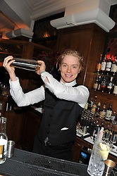 FREDDIE FOX at One Night Only at The Ivy held at The Ivy, 1-5 West Street, London on 2nd December 2012.