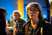 PHILLIPA PERRY, The Unilever Series: Tacita Dean. Tate Modern. London. 10 October 2011. <br /> <br />  , -DO NOT ARCHIVE-© Copyright Photograph by Dafydd Jones. 248 Clapham Rd. London SW9 0PZ. Tel 0207 820 0771. www.dafjones.com.