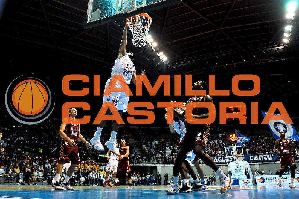 Romeo Travis<br /> Red October Cantu' Umana Reyer Venezia<br /> Basket serie A 2016/2017<br /> Milano 03/10/2016<br /> Foto Ciamillo-Castoria