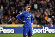 Cardiff City defender Joe Bennett (3)  during the EFL Sky Bet Championship match between Hull City and Cardiff City at the KCOM Stadium, Kingston upon Hull, England on 28 April 2018. Picture by Mick Atkins.