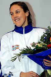 06-12-2008 ZWEMMEN: SWIMCUP: EINDHOVEN<br /> Marleen Veldhuis<br /> ©2008-WWW.FOTOHOOGENDOORN.NL