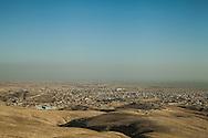 13/11/2015-- Iraq,Sinjar -- A view of Sinjar city from north east pole.